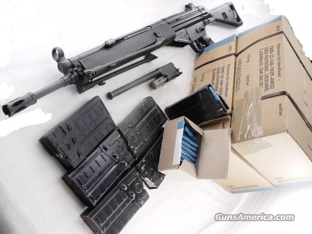 HK91 PTR91 CETME Lightweight Bolt Kit Factory Heckler & Koch with 2000 Rounds of Compatible 308 Winchester 7.62x51 NATO Practice Ammunition and 3 HK Magazines  Non-Guns > Ammunition