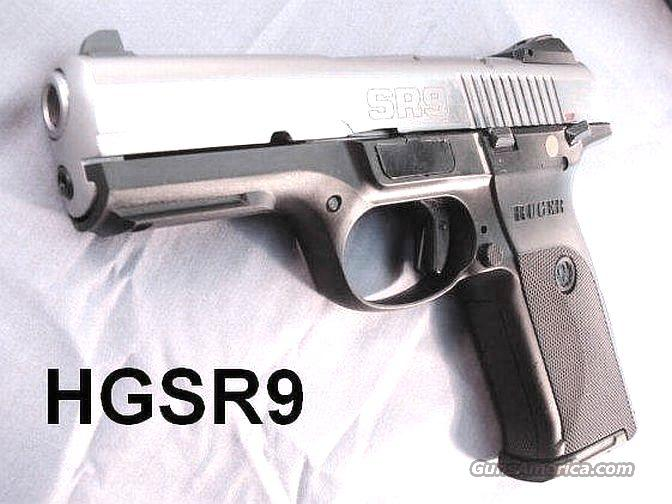 Ruger 9mm SR9 Stainless 18 Shot 2 Mags NIB  Guns > Pistols > Ruger Semi-Auto Pistols > SR9