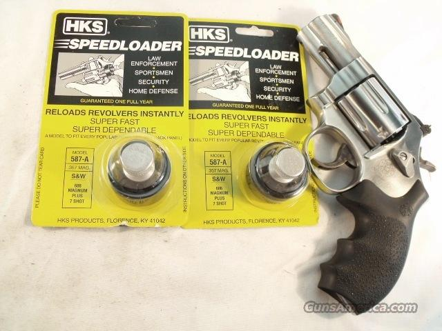 Speedloader HKS 587A Smith & Wesson 686 + 7 Shot Revolvers Taurus 7 Shot   Non-Guns > Magazines & Clips > Pistol Magazines > Smith & Wesson