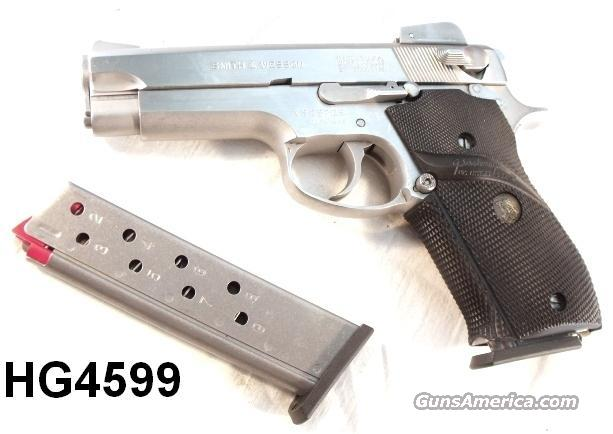 S&W 9mm 639 Adjustable VG 1984 w/3 Factory Magazines  Guns > Pistols > Smith & Wesson Pistols - Autos > Steel Frame