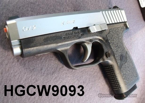 Kahr Arms 9mm Model CW 9 Packed NIB Karr CW-9 8 Shot 2 Magazines CA MA OK CW9093 Free Extended Mag Factory Direct Offer Good until 11/30/11   Guns > Pistols > Kahr Pistols