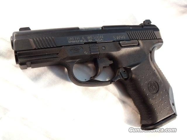 S&W .40 model SW99 VG-Exc Adjustable Night Sights 2 Mags 13 Shot Smith & Wesson 40 Caliber Nevada Highway Patrol  Guns > Pistols > Walther Pistols > Post WWII > Large Frame Autos