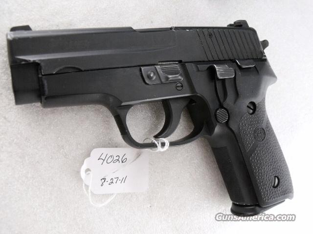 Sig 9mm P228 Swiss Police 16 Shot VG 2 Magazines Night Sights All German Sig Sauer P-228 CA OK 2002 Mfg  Guns > Pistols > Sig - Sauer/Sigarms Pistols > P228