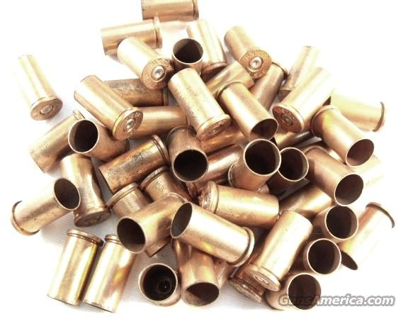 Ammo Brass U.S. Winchester .38 S&W Copper ca. 1950s Exc Once Fired 50 Brass  Non-Guns > Reloading > Components > Brass