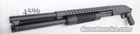 Mossberg 12 gauge 8 Shot Cruiser Grip Trench Gun type Heat Shield Matte Finish 3 inch 20 in Cylinder Bore Excellent Factory Demo 50580ZU   Guns > Shotguns > Mossberg Shotguns > Pump > Tactical