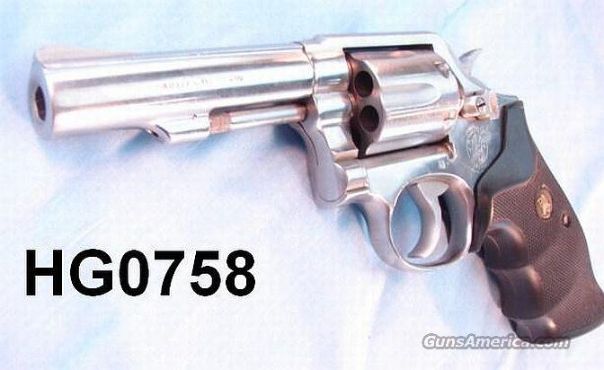 S&W .38 Spl +P 64-5 SS HB 4 in VG-Exc 1989  Guns > Pistols > Smith & Wesson Revolvers > Full Frame Revolver