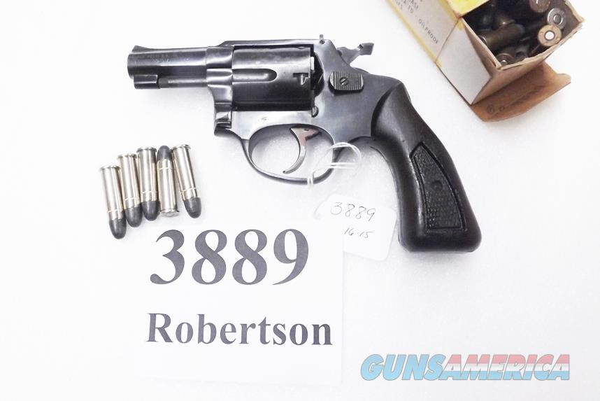 Rossi .38 Special model 68 Blue 2 1/4 in Snub 5 Shot Grips 38 Smith & Wesson Special Caliber 36 Chief's Special Copy Interarms 1980s Non +P  Guns > Pistols > Rossi Revolvers