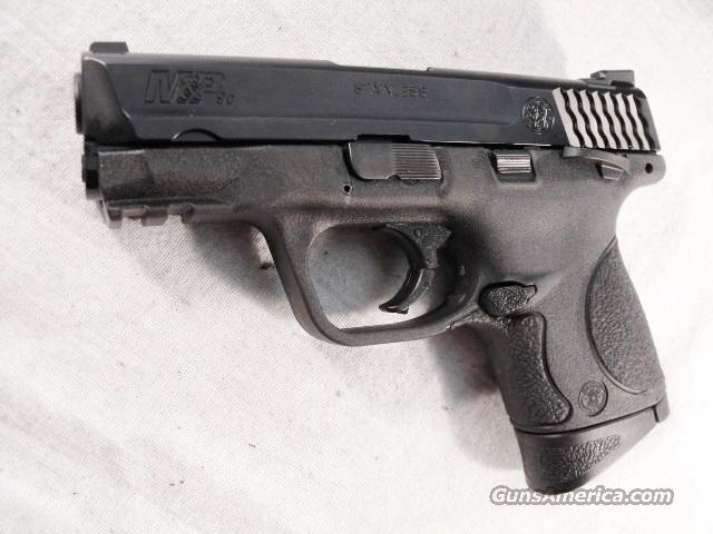 S&W 9mm M&P 9C Lever Safety Compact IL Luminous Sights 2 Magazines 12 + 1 NIB MP9C MP-9C Military & Police   Guns > Pistols > Smith & Wesson Pistols - Autos > Polymer Frame