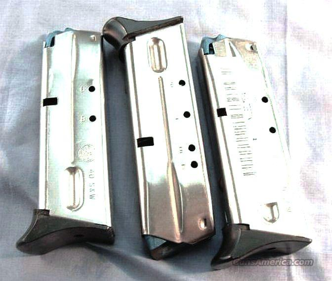 Magazine S&W .40 Stainless 9 Rd 4013TSW 4053 Excellent Smith & Wesson Factory 9 Shot 40 Caliber   Non-Guns > Magazines & Clips > Pistol Magazines > Smith & Wesson
