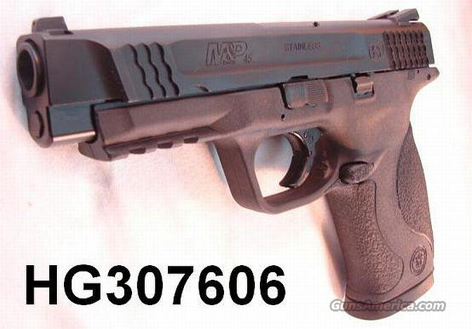 S&W M&P-45 .45 ACP Night Sights Black Stainless 11 Shot NIB  Guns > Pistols > Smith & Wesson Pistols - Autos > Polymer Frame