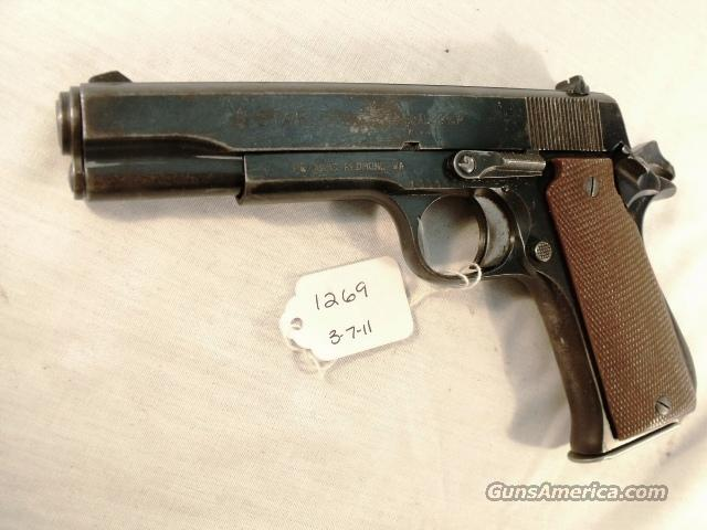 Star Spain 9mm Model B Super Israeli Police 1975 Colt Government Type  Guns > Pistols > Surplus Pistols & Copies