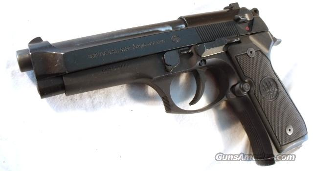 Beretta 92G 9mm VG DeKalb GA Sheriff Dept ca. 2002 One LE 15 round Magazine Model 92-G Decocker  Guns > Pistols > Beretta Pistols > Model 92 Series