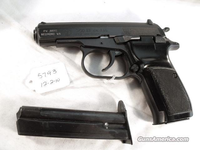 CZ .32 ACP model 83 Blue 16 Shot Exc 1992 Box & Papers 2 Magazines  Guns > Pistols > CZ (Ceska ZBrojovka) Pistols
