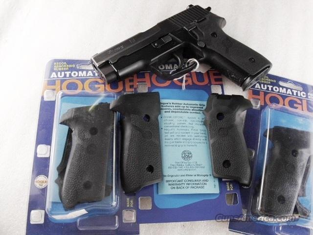Grips Sig Arms P-228 Hogue Combat NIB P228 Sig Sauer   Non-Guns > Gunstocks, Grips & Wood