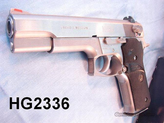 S&W 645 .45 VG 2 Mags Issue Box 1986  Guns > Pistols > Smith & Wesson Pistols - Autos > Steel Frame