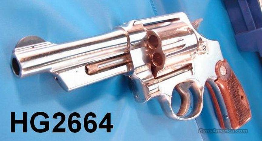 S&W .44 Nickel 4 in 21-4 Near Mint in Box  Guns > Pistols > Smith & Wesson Revolvers > Full Frame Revolver
