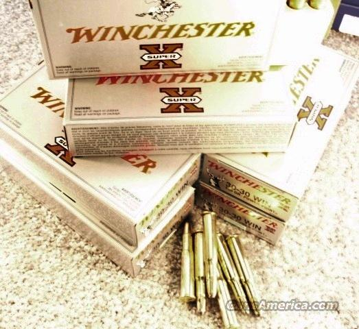 Ammo: .30-30 Winchester 100 Round Lot of 5 Boxes Power Point 150 grain Soft Point 3030 Ammunition Cartridges Super X30306  Non-Guns > Ammunition