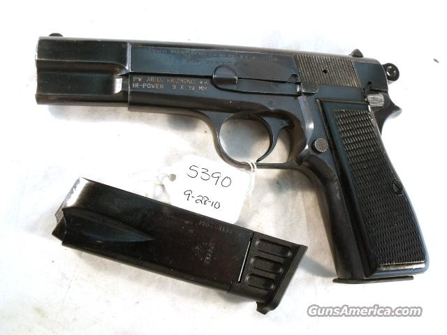 FN Browning 9mm Hi-Power Israeli G-VG 1969 w/2 Magazines  Guns > Pistols > Military Misc. Pistols Non-US