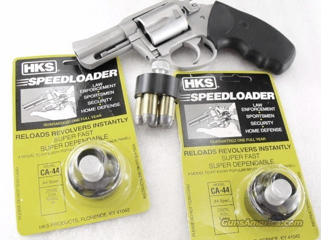 Speedloader HKS Charter Arms .44 Special Bulldog 5 Shot Revolvers for 44 Spl NIB CA-44 CA44  Non-Guns > Magazines & Clips > Pistol Magazines > Other