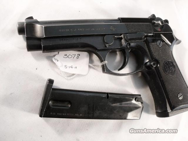 Beretta 9mm Model 92F 1988 Los Angeles County Sheriff's Department VG with 2 LE15 Round Magazines  Guns > Pistols > Beretta Pistols > Model 92 Series