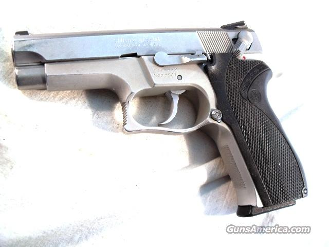 S&W 9mm Model 5903 Lightweight variant of 5906 Stainless VG 2 Hi-Cap Mags Atlanta Police Department 1989  Guns > Pistols > Smith & Wesson Pistols - Autos > Alloy Frame