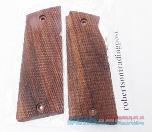 Grips for Star Spain 9mm Model Super B India Walnut Finish Cut Checkered Wood New 38 Super 9mm Largo Model Super B only Not Model B, BM, BKM or BS  Non-Guns > Gun Parts > Grips > Other