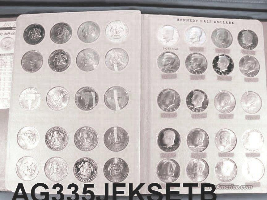 Silver: Kennedy Half Dollar Set 1964-1992 Complete Less 90-S Incl. Proofs all BU  Non-Guns > Coins
