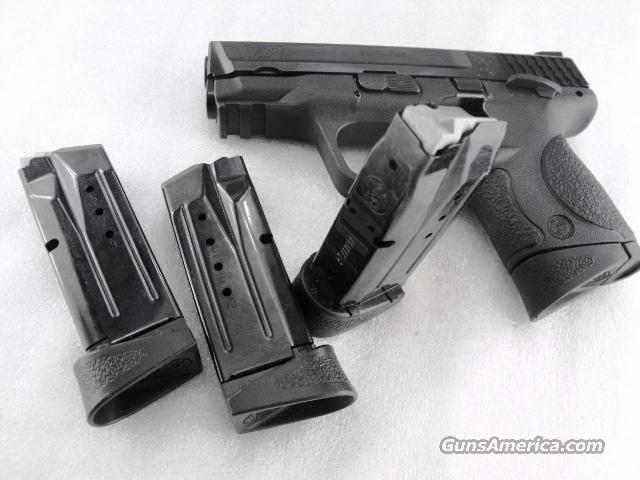 Magazine S&W MP-9 Compact 9mm Blue Steel 10 Round New Smith & Wesson Factory M&P 9C SKU 19452  Non-Guns > Magazines & Clips > Pistol Magazines > Smith & Wesson
