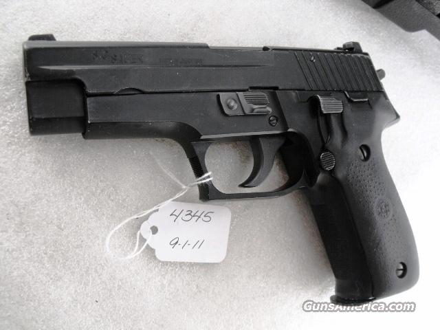 Sig 9mm P-226 Swiss Police 2003 K-Kote Siglite Night Sights VG 2 Magazines CA MA OK  Guns > Pistols > Sig - Sauer/Sigarms Pistols > P226
