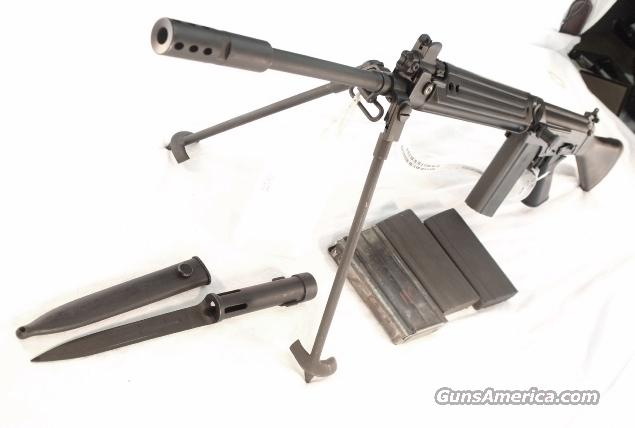 Century Arms .308 L1A1 FN/LAR Type Factory Refurb w/4 Mags & Bipod  Guns > Rifles > FNH - Fabrique Nationale (FN) Rifles > Semi-auto > FAL Type