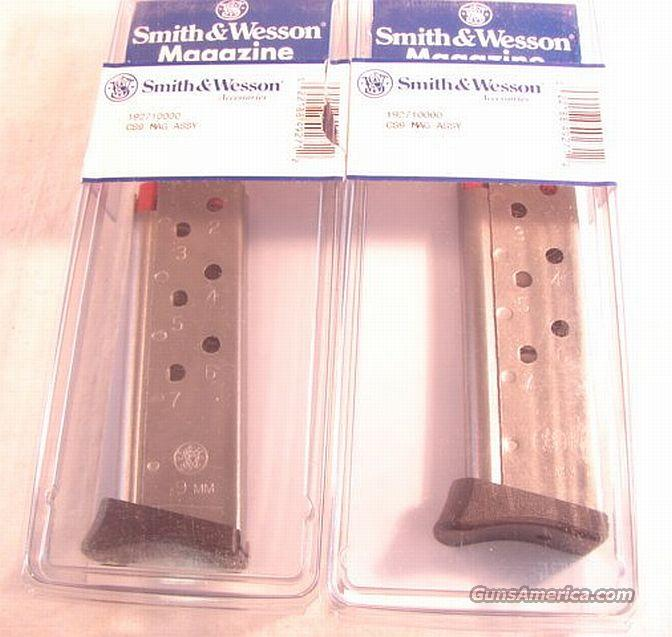 Magazine S&W CS 9 Stainless Chief's Special 9mm NIB  Non-Guns > Magazines & Clips > Pistol Magazines > Smith & Wesson