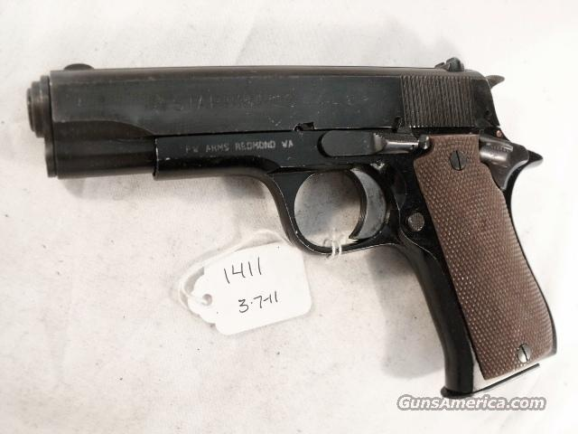 Star Spain 9mm Model BKS Lightweight Colt Commander Size 1974 Israeli Army Police VG 1 Magazine  Guns > Pistols > Star Pistols