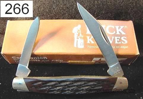 Knife: Buck 309BB Companion Brown Bone Mint  Non-Guns > Knives/Swords > Knives > Folding Blade > Imported