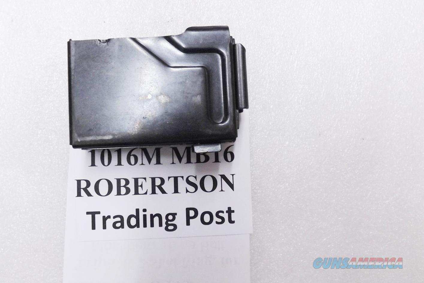 Triple K 2 Shot Magazine for Mossberg 190 series 16 gauge Bolt Action Shotguns 2 shot blued steel   Non-Guns > Magazines & Clips > Rifle Magazines > Other