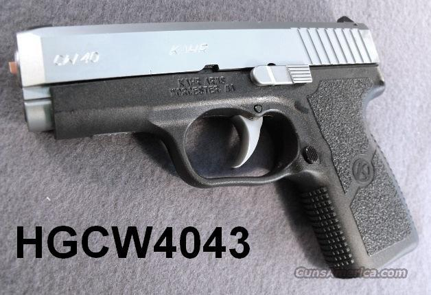 Kahr .40 S&W CW40 Packed NIB CW-40 CW4043 7 Shot 2 Magazines CA MA OK CW9093 Free Extended Mag Factory Direct Offer Good until 11/30/11  Guns > Pistols > Kahr Pistols