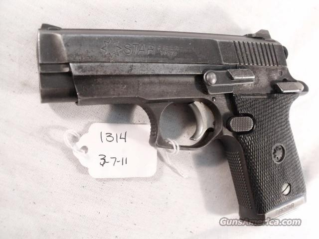 Star Spain 9mm Firestar Israeli Police 8 Shot All Steel Compact 1988 w 1 Magazine   Guns > Pistols > Star Pistols
