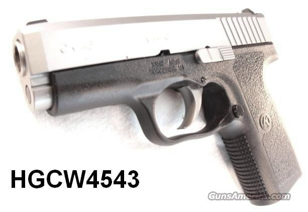 Kahr .45 ACP CW 45 Packed NIB Kahr Arms model CW45 Stainless 45 Automatic CW4543  Guns > Pistols > Kahr Pistols