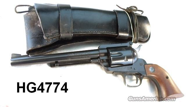 Ruger .30 Carbine Old Model Blackhawk 6 1/2 in Blue Exc 1973  Guns > Pistols > Ruger Single Action Revolvers > Blackhawk Type