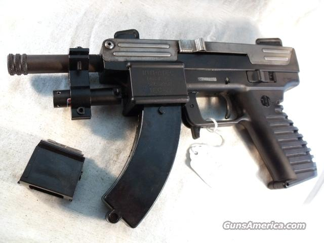 Intratec .22 LR TEC-22 Scorpion 30 Shot 3 Mags VG ca 1989  Guns > Pistols > Military Misc. Pistols US > Other