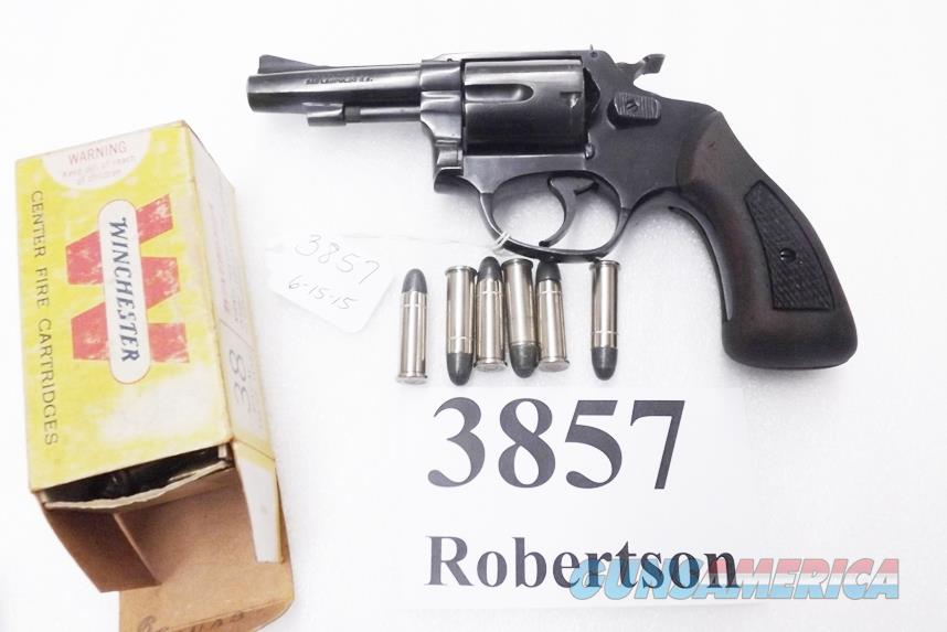 Rossi .38 Special model 68 Blue 3 inch 5 Shot Grips 38 Smith & Wesson Special Caliber 36 Chief's Special Copy Interarms 1980s Non +P  Guns > Pistols > Rossi Revolvers