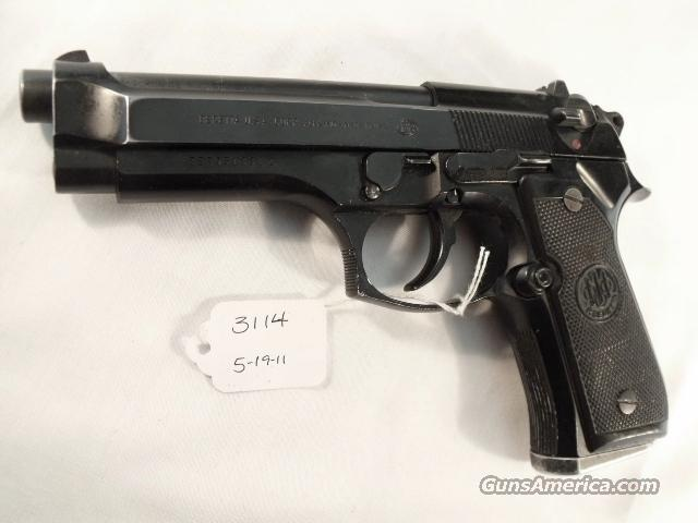 Beretta 9mm Model 92F 1990 Los Angeles County Sheriff's Department  G-VG with 1 Pre-Ban 15 Round Magazine  Guns > Pistols > Beretta Pistols > Model 92 Series