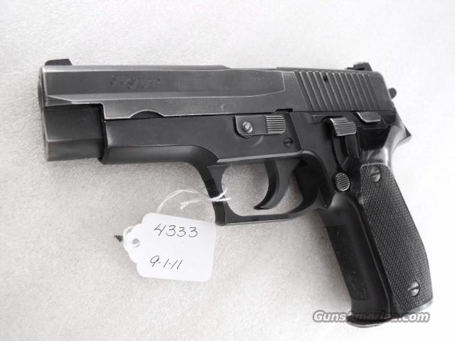 Sig 9mm P-226 Swiss Police 1991 Siglite Night Sights 1 Preban Flashlight Mount Magazine CA MA OK	  Guns > Pistols > Sig - Sauer/Sigarms Pistols > P226