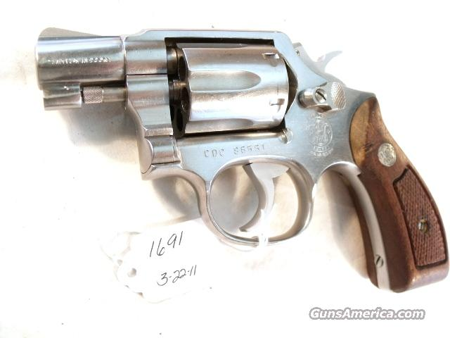 Smith & Wesson .38 Special model 64-2 Stainless Snub 2 inch Round Butt California Dept of Corrections VG 1987  Guns > Pistols > Smith & Wesson Revolvers > Pocket Pistols