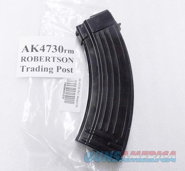 AK47 Magazines 30 Round All Steel KCI Korea 7.62x39 AK Semi 76239 New Steel Teflon Finish AK4730RM Buy 3 Ships Free!   Non-Guns > Magazines & Clips > Rifle Magazines > AK Family