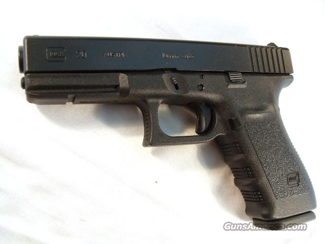 Glock 10mm 16 Shot M20 Slim Frame NIB  Model 20 Automatic   Guns > Pistols > Glock Pistols > 20/21