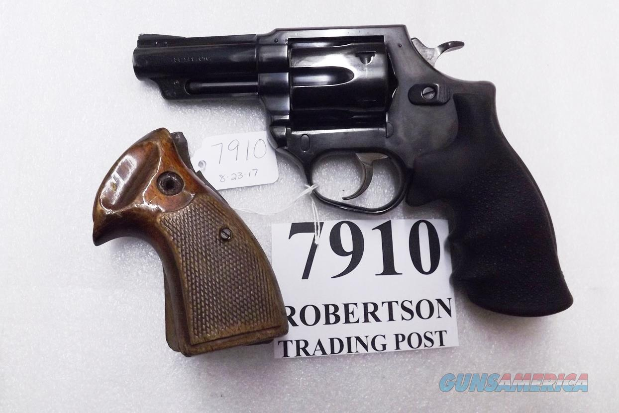 Astra Spain .38 Special Police model Large Frame Revolver 6 Shot 3 inch Blue Steel 2 Sets of Grips Very Good 1985 Guernica Vitoria Basque Municipal Police Issue +P OK  Guns > Pistols > Astra Pistols