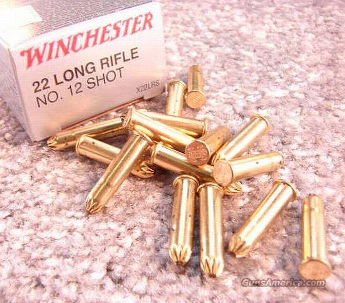 Ammo: .22 LR Win #12 Shot 50 rd Boxes; Bricks Available  Non-Guns > Ammunition