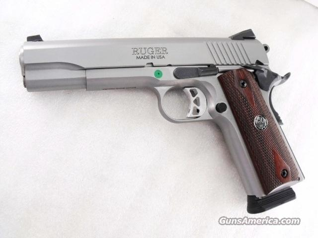Ruger .45 ACP SR1911 Government Model 5 inch Stainless XSE Custom Grade Features Brand New 2 Magazines 45 Automatic SKU 06700   Guns > Pistols > Ruger Semi-Auto Pistols > SR9