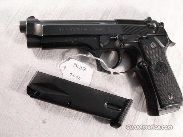 Beretta 9mm Model 92F 1990 Los Angeles County Sheriff's Department VG with 2 Italian 15 Round Magazines  Guns > Pistols > Beretta Pistols > Model 92 Series