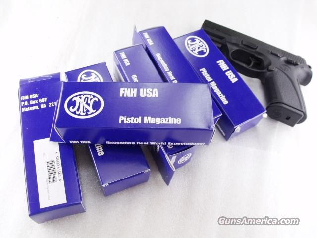 Lots of 3 or more Magazines FNP9 Factory Stainless 10 Shot FNP-9 Pistol Brand New Fabrique Nationale FNH SKU 471040 $39 each on 3 or more  Non-Guns > Magazines & Clips > Pistol Magazines > Other